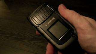 Samsung Rugby II Hardware Overview
