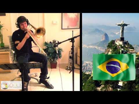 """""""Aquarela do Brasil"""" """"Brazil"""" - Trombone Cover"""