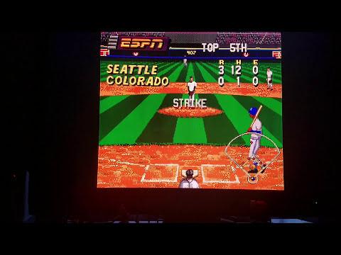 (EPISODE 1,415) RETRO GAMING: LET'S PLAY ESPN BASEBALL TONIGHT (SEGA) 1994