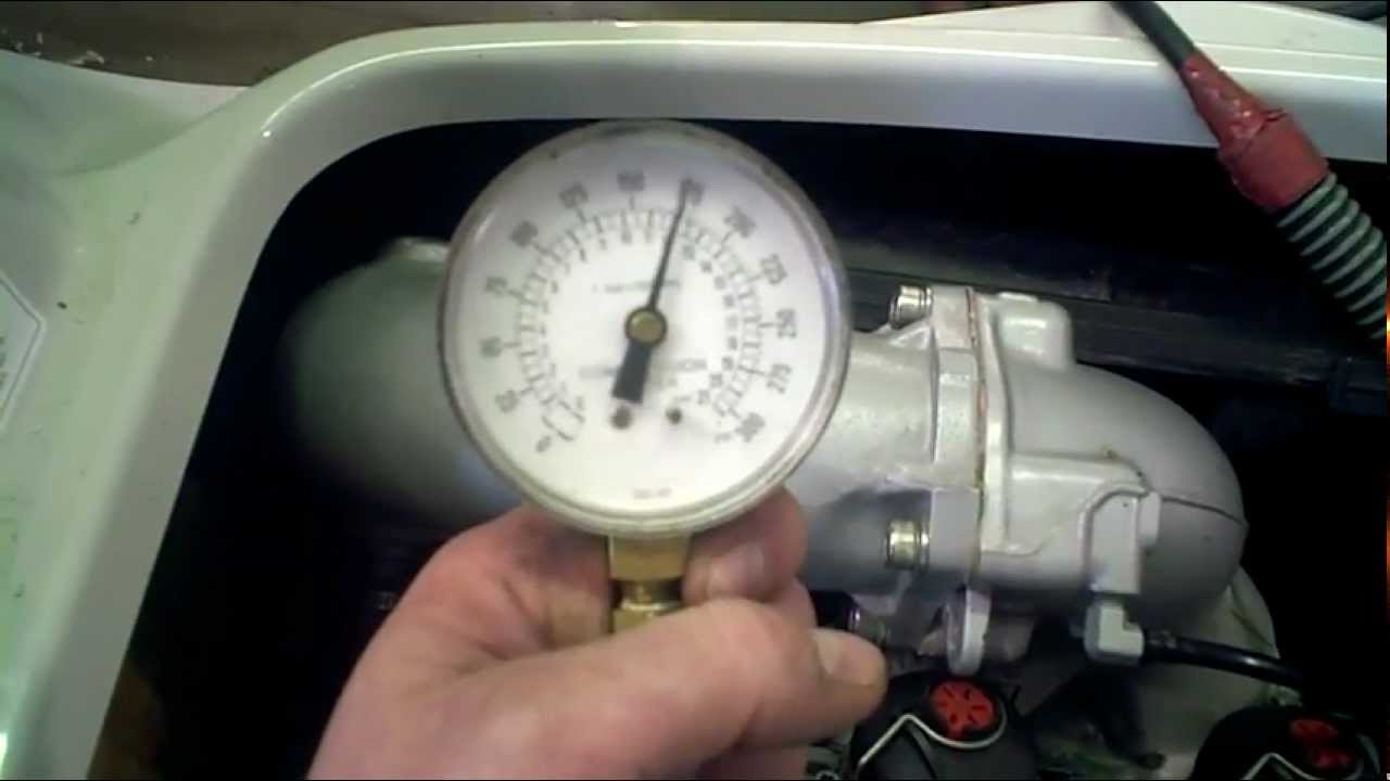 LOT 1217A 1999 Sea Doo GSX RFI Engine Compression Test ...