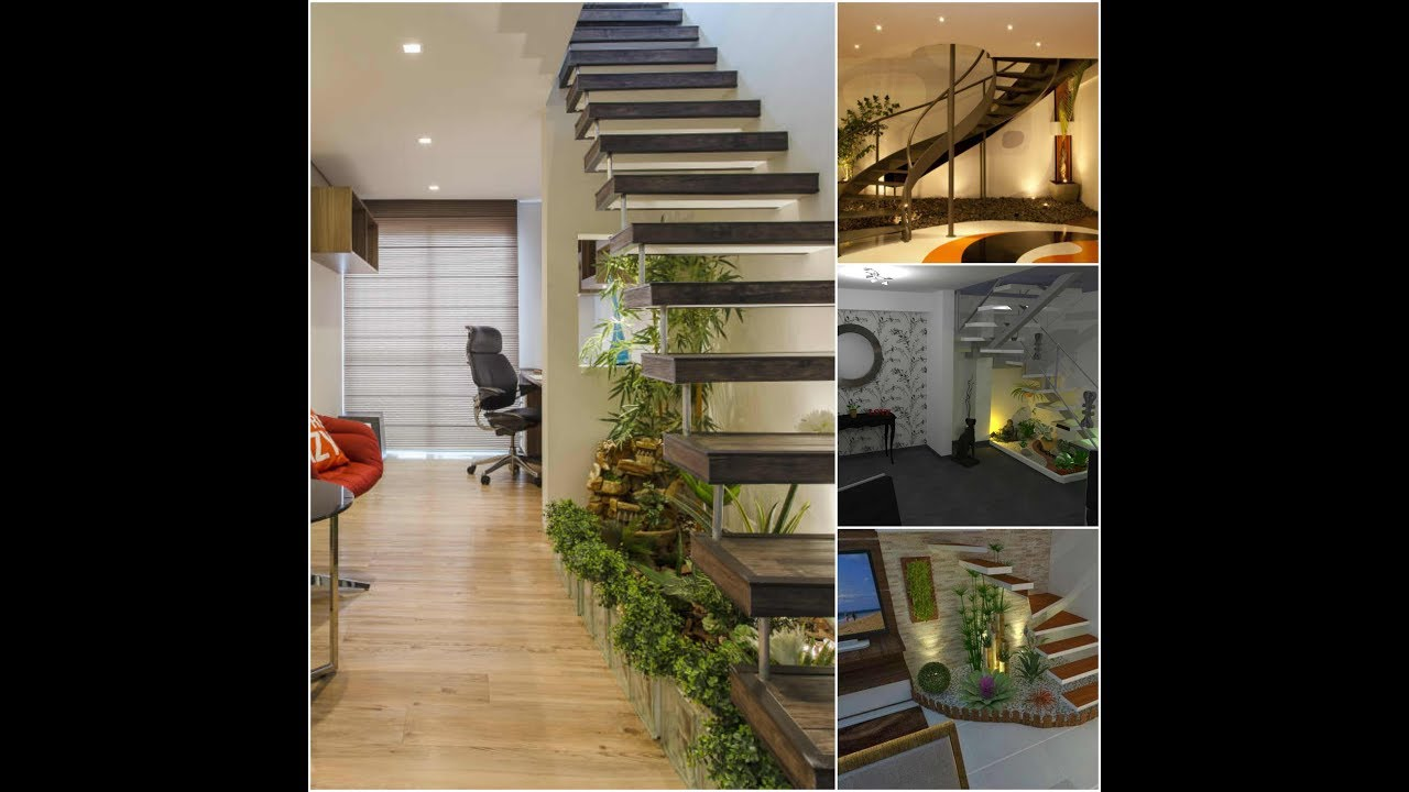 Novedosas ideas de jardines bajo las escaleras youtube for Jardin interior bajo escalera