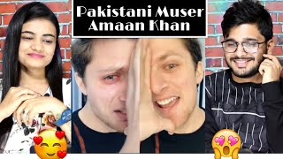 Indian Reaction On Pakistani Muser AMAAN KHAN Tik Tok Videos.