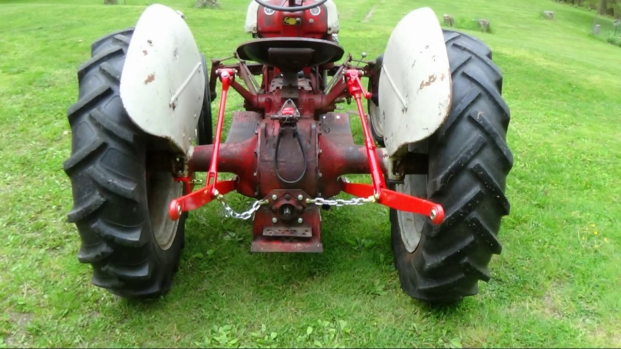 ford 8n rear axle hydraulic repair [ 1280 x 720 Pixel ]