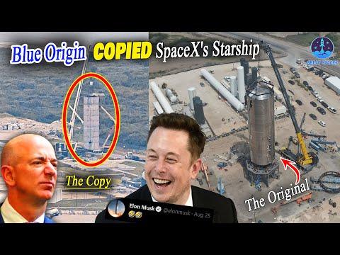 SpaceX vs Blue Origin: Elon Musk's Reaction to Jeff Bezos NEW Stainless Steel Test Tank