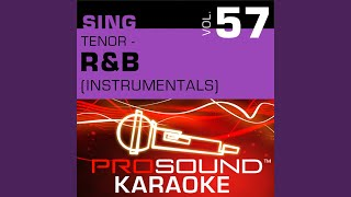 For Your Love (Karaoke Instrumental Track) (In the Style of Stevie Wonder)