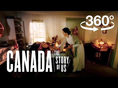 War of 1812: Laura Secord's trek to thwart American Invasion (360 Video) | Canada: The Story of Us