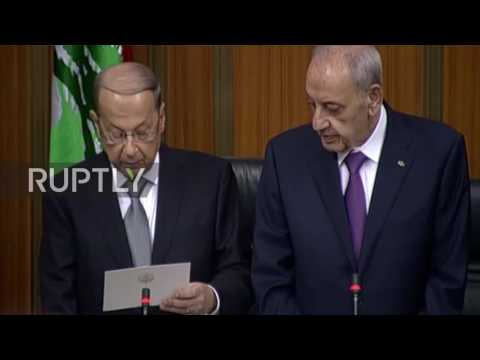 Lebanon: Michel Aoun elected as Lebanon's president, breaking two-year stalemate