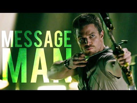 """""""Message Man"""",Multifandom."""