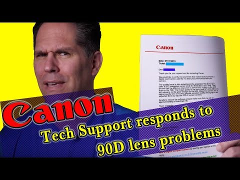Canon Responds To 90D Lens Problems