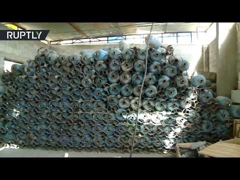 EXCLUSIVE: RT films stockpiles of ISIS arms abandoned inside liberated Al Mayadeen