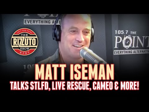3rd Timer, MATT ISEMAN talks LIVE RESCUE, red carpet FAIL, Cameo, more! [Rizzuto Show]