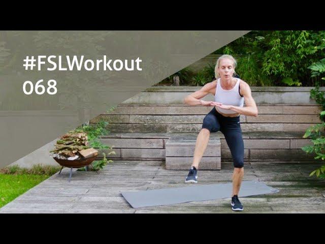 Benen Billen & Buik Workout | FSLWorkout 068