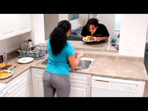 YOU CAN'T COOK PRANK ON FIANCE!