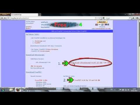 Free PDF - PDF Dateien Aus Allen Anwendungen Erzeugen