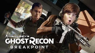 Кинокритик Илья Мэддисон играет с Кейком в Tom Clancy's Ghost Recon Breakpoint #2