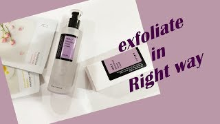 In this video I have shared the best way to use an acid exfoliator,...
