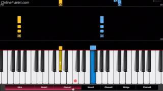 vuclip The Jackson 5 - I Want You Back - EASY Piano Tutorial - How to play I Want You Back