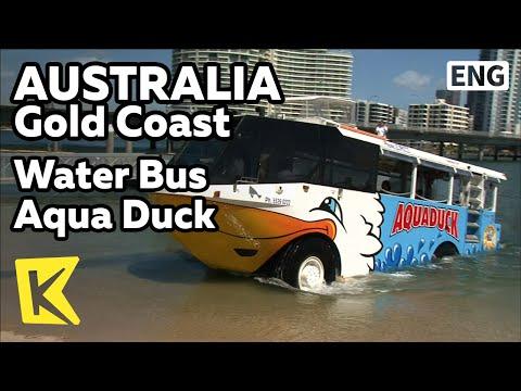 【K】Australia Travel-Gold Coast[호주 여행-골드코스트]서퍼스 파라다이스, 수상버스 아쿠아 덕/Surfer's Paradise/Aqua Duck