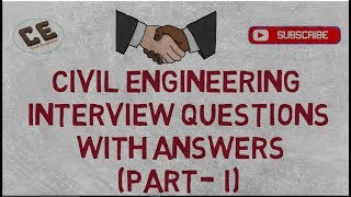 Civil Engineering Interview|Civil Engineering Questions and Answers|Part 1|Er. Raghvendra