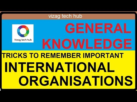 INTERNATIONAL ORGANISATIONS HEADQUATERS TRICKS