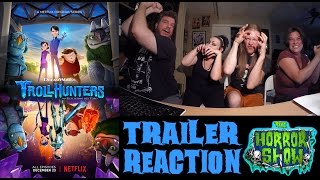"""""""Trollhunters"""" 2016 Trailer Reaction - The Horror Show"""