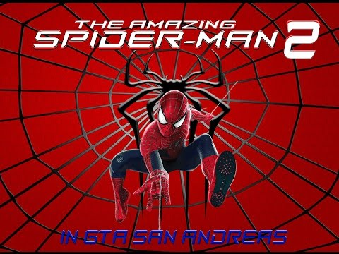 GTA San Andreas The Amazing Spider Man 2 Mod!!