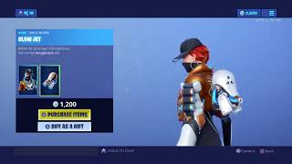 Fortnite item shop(NEW BIZ skin)