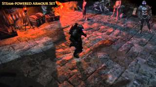 Path of Exile - Steam-powered Armour Set