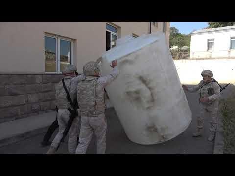 Резервуары передали миротворцы РФ в школы Нагорного Карабаха