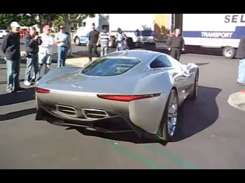 Jaguar C-X75 Concept Car Special Appearance at Cars & Coffee