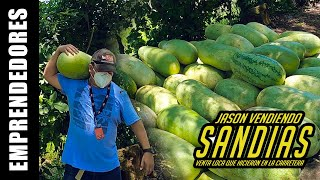 Venta loca de Sandias en La Union El Salvador | Youtubero Salvadoreño