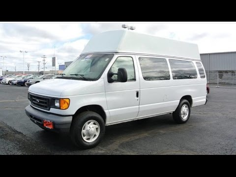 wheelchair accessible 2007 ford e 350 10 passenger van. Black Bedroom Furniture Sets. Home Design Ideas