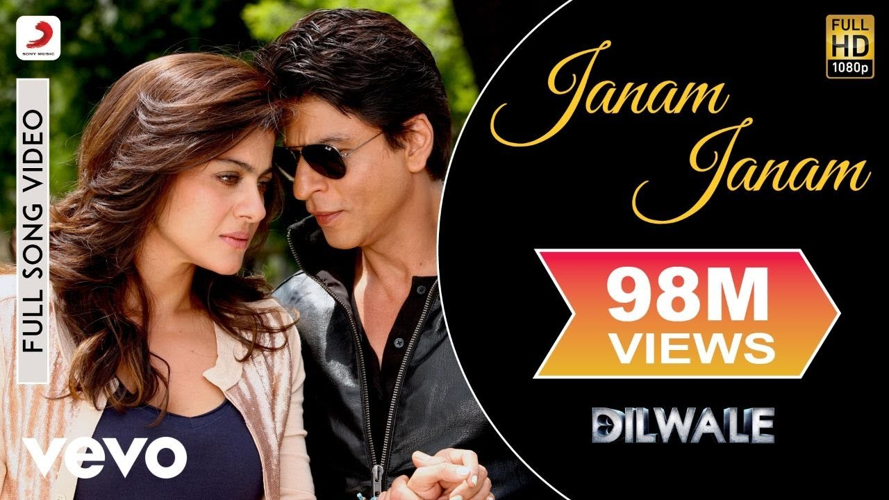 Janam Janam Full Video Dilwaleshah Rukh Khankajolarijit Singhantara Mitrapritam