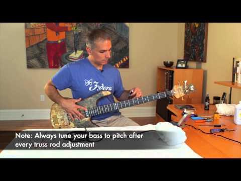 Bass Care & Maintenance - Adjusting Your Truss Rod