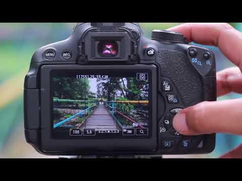 Tutorial Cara Penggunaan Kamera Canon EOS 1200D.