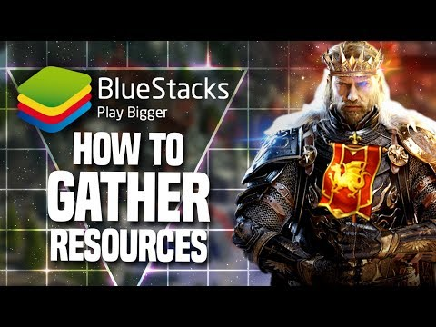 How to Gather Resources Optimally in King of Avalon   BlueStacks