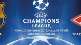 Barcelona vs Spartak Moskva Champions 2013 en vivo por internet