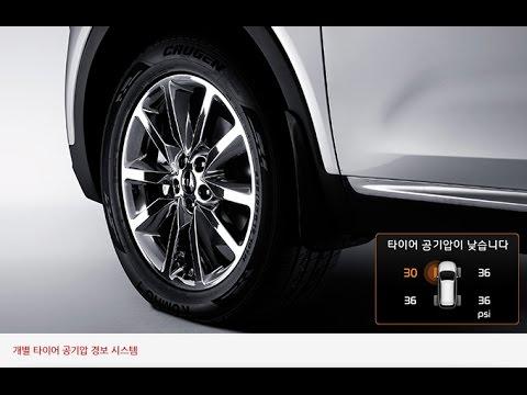 Tire Pressure Monitoring System >> Tire Pressure Monitoring System - 2016 Kia Sorento - YouTube