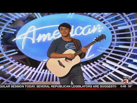 Louisiana high school student on American Idol tonight