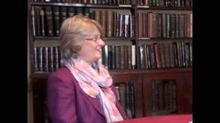Denise Bundred in interview with Donald Singer