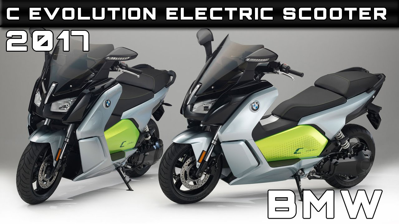 2017 bmw c evolution electric scooter review rendered price specs