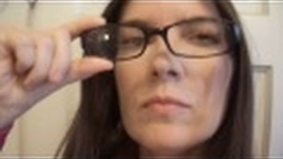 20/200 VISION Reading With And Without Glasses difference from dictionary prescription bifocal woman