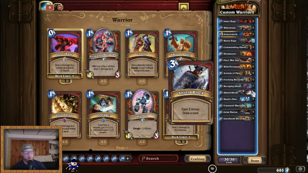 Budget Warrior Lich King Deck Guide and Kill Video