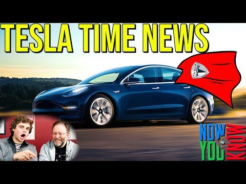 Tesla Time News - Model 3 Saves Lives!
