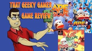 Ape Escape Trilogy Review