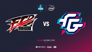 FTD vs Forward Gaming, ESL One Katowice 2019, bo2, game 2, [Mila]