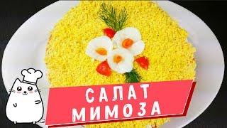 Салат Мимоза  Как приготовить салат с консервами