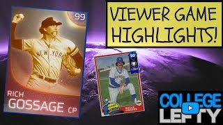 VIEWER GAME HIGHLIGHTS WITH ROLLIE FINGERS AND GOOSE GOSSAGE! MLB THE SHOW 18