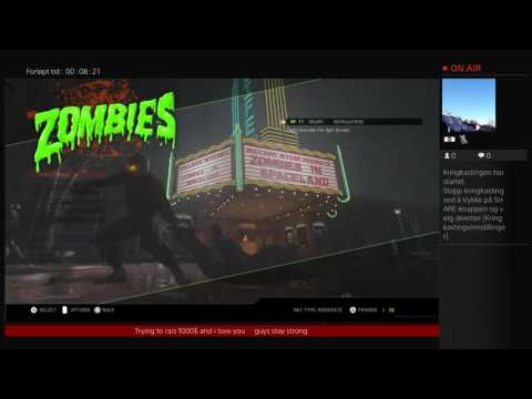 ZOMBIES IN SPACELAND EASTER EGG   [CAM  Norway beautiful scenery]