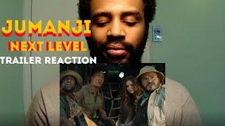 Jumanji The Next Level - Trailer Reaction - This looks GOOD!!!